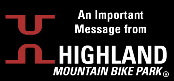 Important Message from Highland Mountain