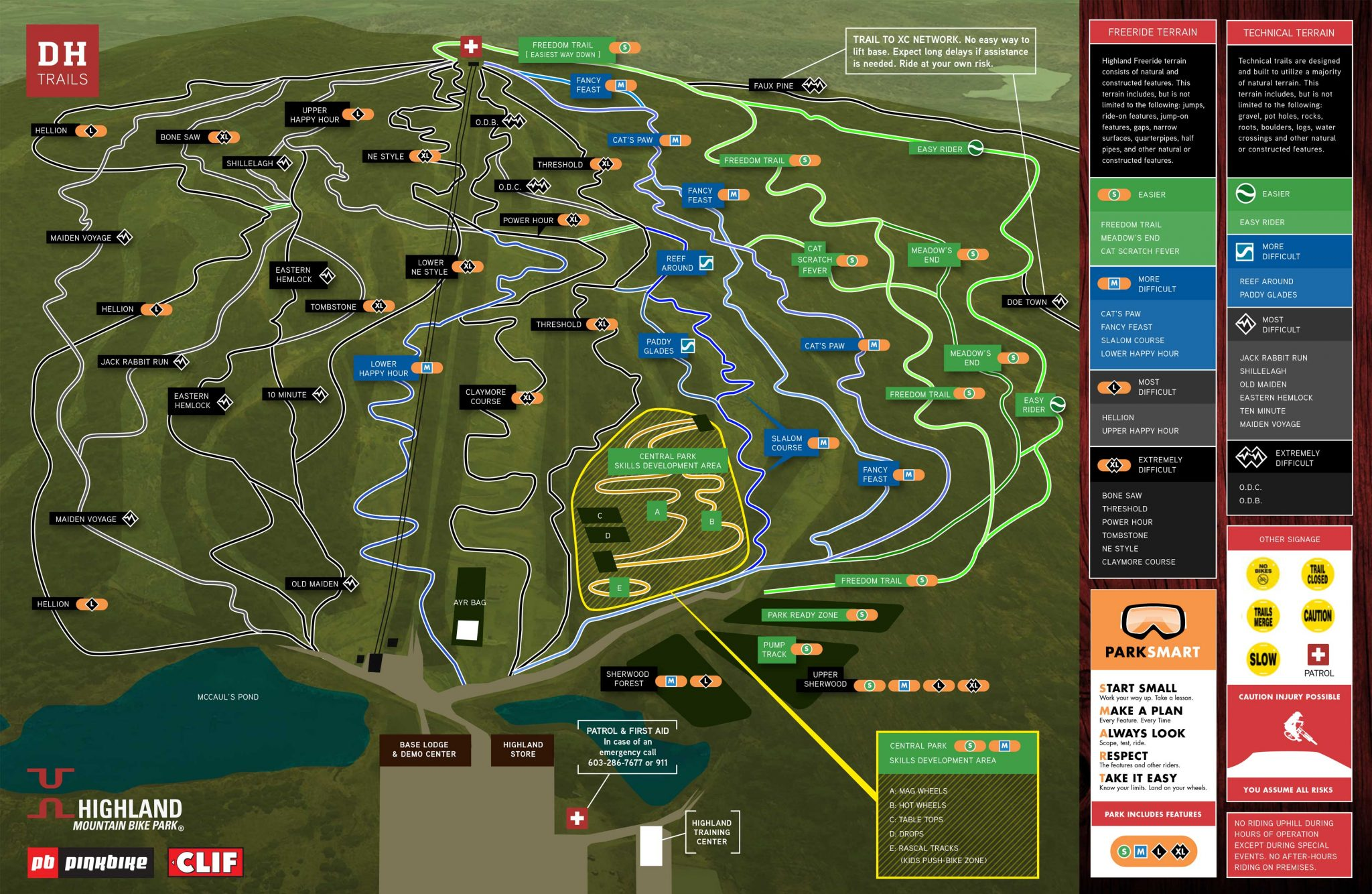 2017-Trail-Map_Downhill