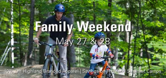 Family Weekend 5/27–28