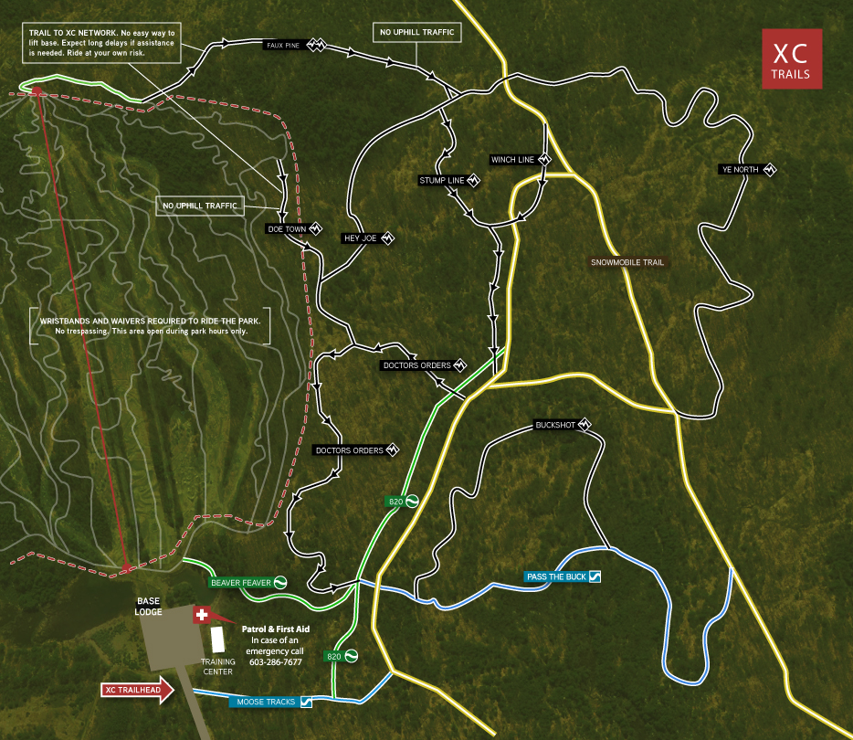2018-Trail-Map_Cross-Country