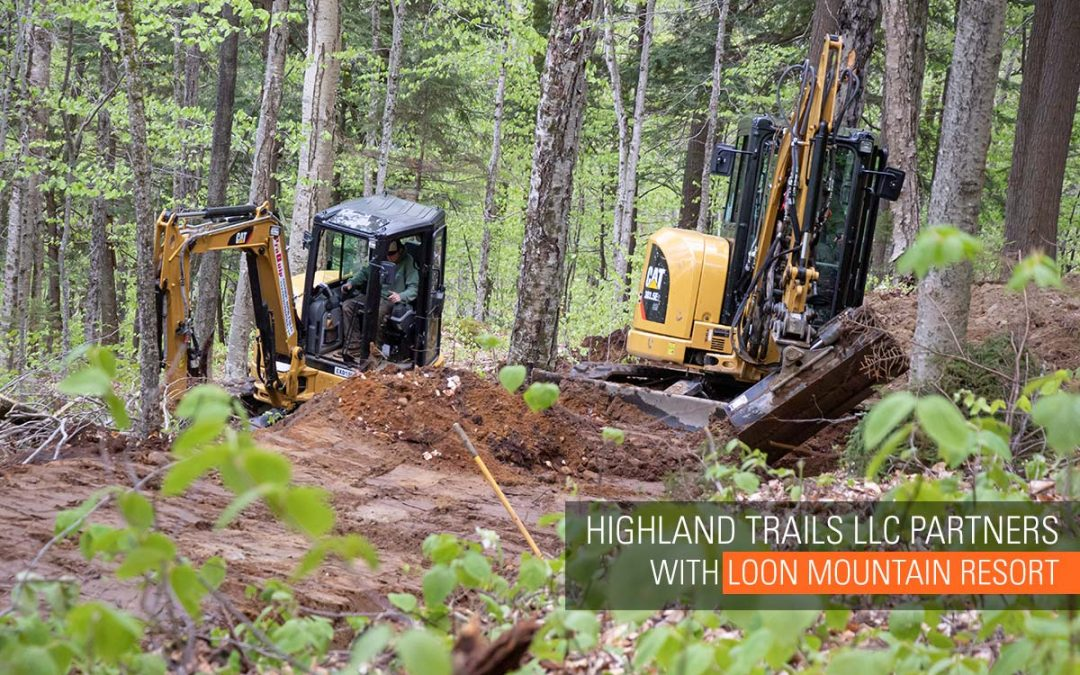 DOWNHILL MTB AT LOON MOUNTAIN: BUILT BY HIGHLAND TRAILS